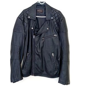River Island Faux Leather Moto Jacket